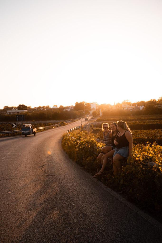 Met vriendinnen op vakantie in Puglia